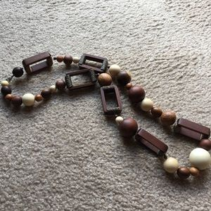 FOSSIL Wooden Necklace
